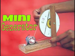 how to make mini generator at home