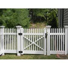 White Swing Wooden Fence Gate For Garden Rs 850 Square Feet Eqvinisha Planters And Plastics Id 20238489991