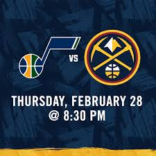 Utah Jazz vs Denver Nuggets Match ...