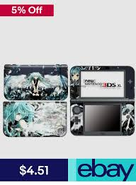 Xlx Electronics Decal Sticker Skins Ebay Video Games Consoles 3ds Xl Nintendo 3ds Xl Nintendo News