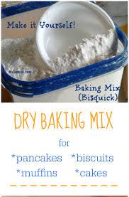 homemade bisquick mix diy bisquick