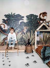 Mark S Playful Toddler Room With Jungle Vibes