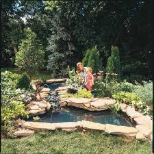 pond fountain and waterfall projects