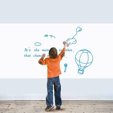 Whiteboard Office Wall Sticker Removable Erasable White Board Kids Room Decals Kids Room Decalls White Boardkids Room Aliexpress