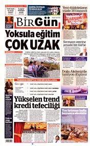 BirGün Gazetesi Manşeti - 14 Eylül 2020 Pazartesi