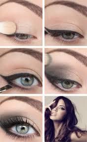smokey eye cat eye makeup tutorial