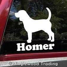 Beagle V2 Vinyl Decal Sticker Dog Hound Foxhound Scent Puppy Minglewood Trading