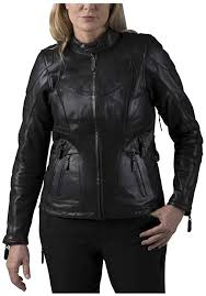 fxrg triple vent system leather jacket
