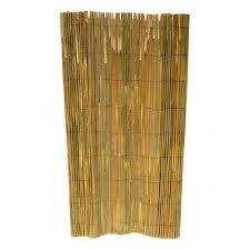 Mgp 71 5 In H X 168 In W X 1 2 In D Bamboo Slat Garden Fence Sbf 96 The Home Depot In 2020 Bamboo Fence Willow Fence Panels Garden Fence Panels