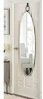 large oval dressing mirror