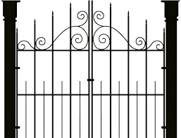 Haunted House Clipart Fence Haunted House Gates Png Transparent Cartoon Jing Fm