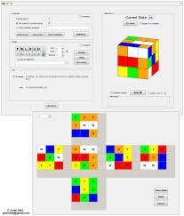 rubik s cube simulator and solver
