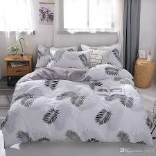 bedding set leaf ins style