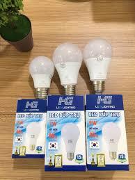 Đèn Led búp tròn thân nhựa giá sỉ - giá bán buôn