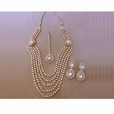 indian bridal jewellery set 22k gold