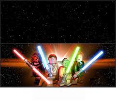 Lego Star Wars Etiquetas Para Bolsas De Golosinas Para Imprimir