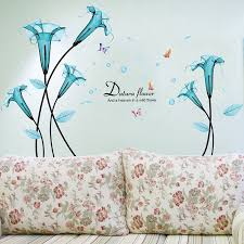 Buy Cozy Living Room Sofa Removable Wall Stickers Romantic Bedroom Bedside Wall Stickers Decorative Wall Stickers Transparent Art Flower Stickers Klimts In Cheap Price On M Alibaba Com