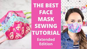 How to Sew a Fitted Fabric Face Mask ...