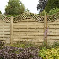 5ft High Forest Prague Fence Panels Pressure Treated Elbec Garden Buildings