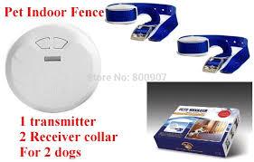 Pet Indoor Wireless Fence Dog Training Collar Dog Electric Shock Fence Dog Fence Pet Manager For 2 Dogs Pets Manager Dog Electric Shockdog Training Aliexpress