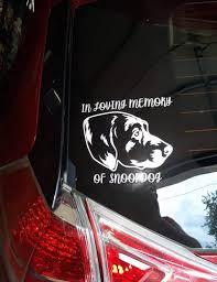 Custom Pet Car Decal Sticker Crtn Me
