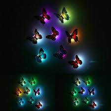 12pcs 3d Butterfly Diy Art Mirror Wall Stickers Home Decal Room Mural Xmas Decor For Sale Online Ebay