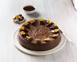 send halal chocolate orange cake to
