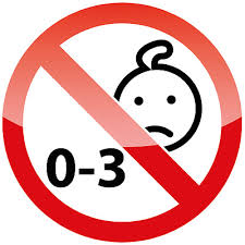 Ban Stop Sign No Kids Car Bumper Sticker Decal 5 X 5 Ebay