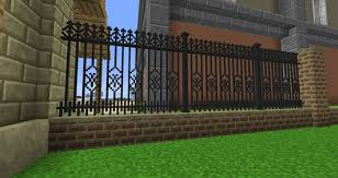 Minecraft Chisel And Bits Mod Fence Inspiration Minecraft Architecture Minecraft Building Guide Outdoor Stair Railing