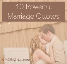 powerful marriage quotes nitty gritty love