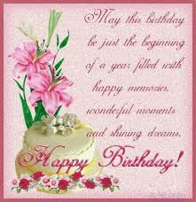 happy birthday greeting card for woman