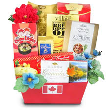 greetings from canada gourmet gifts