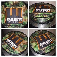 Call Of Duty Black Ops 3 Birthday Cake Cake Buttercream