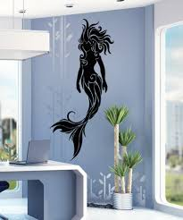 Enhance Your Living Space With This Beautiful Mermaid Wall Sticker From Stickerbrand Shop Today To Fin Beach Wall Decals Vinyl Wall Decals Mermaid Wall Decals