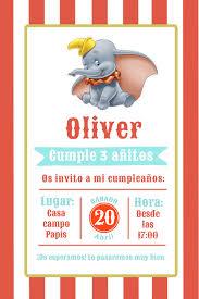 Invitacion Digital Dumbo Hepburina