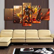 Waliicorners 5 Piece Hd Cartoon Picture Digimon Anime Poster Greymon Digital Monster Poster Wall Sticker Canvas Paintings For Wall Decor Waliicorner S Store