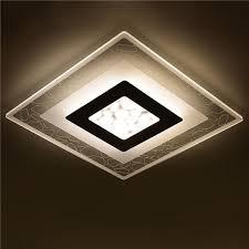 28w modern simple square acrylic led