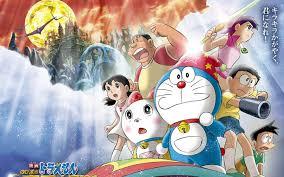 Download Mobile Doraemon And Friends Wallpaper