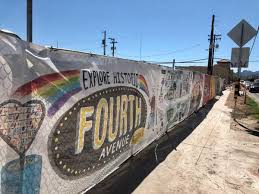 Help Tucson Artists Paint Murals On A Fourth Avenue Construction Fence To Do Tucson Com