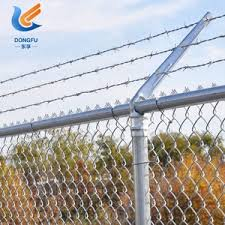 Chain Link Fencing Barbed Wire Chain Link Fencing Barbed Wire Suppliers And Manufacturers At Alibaba Com
