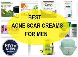 best acne scar removal creams for men