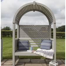 wooden garden arbour outdoor patio