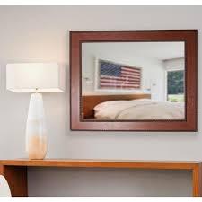 rope non beveled decorative wall mirror