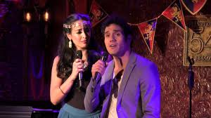 """Adam Jacobs & Courtney Reed - """"Out Of Thin Air"""" (The Broadway Prince Party)  - YouTube"""
