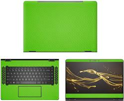Amazon Com Decalrus Protective Decal For Hp Spectre X360 Convertible 15 Bl062nr 15 6 Screen Laptop Green Carbon Fiber Skin Case Cover Wrap Cfhpspectre Bl062nrgreen Computers Accessories