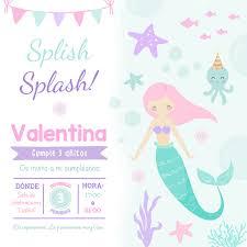 Invitacion Digital Sirena Hepburina