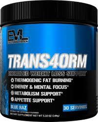 evlution nutrition trans4orm fat burner