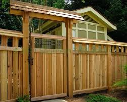 Japanese Fence And Gate Asian Landscape Atlanta By Southern Trillium Llc
