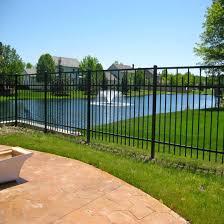 China Wholesale Fence Hardware Galvanized Fencing Powder Coated Fence Panel China Garden Fence Security Fence