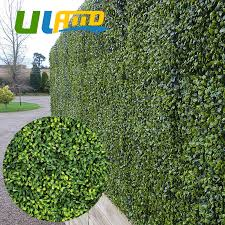 Uland Artificial Boxwood Hedges Plants Panels Outdoor Decorative 3sqm Uv Proof Faux Ivy Bush Fence Screening Wedding Decoration Buy At The Price Of 285 89 In Aliexpress Com Imall Com